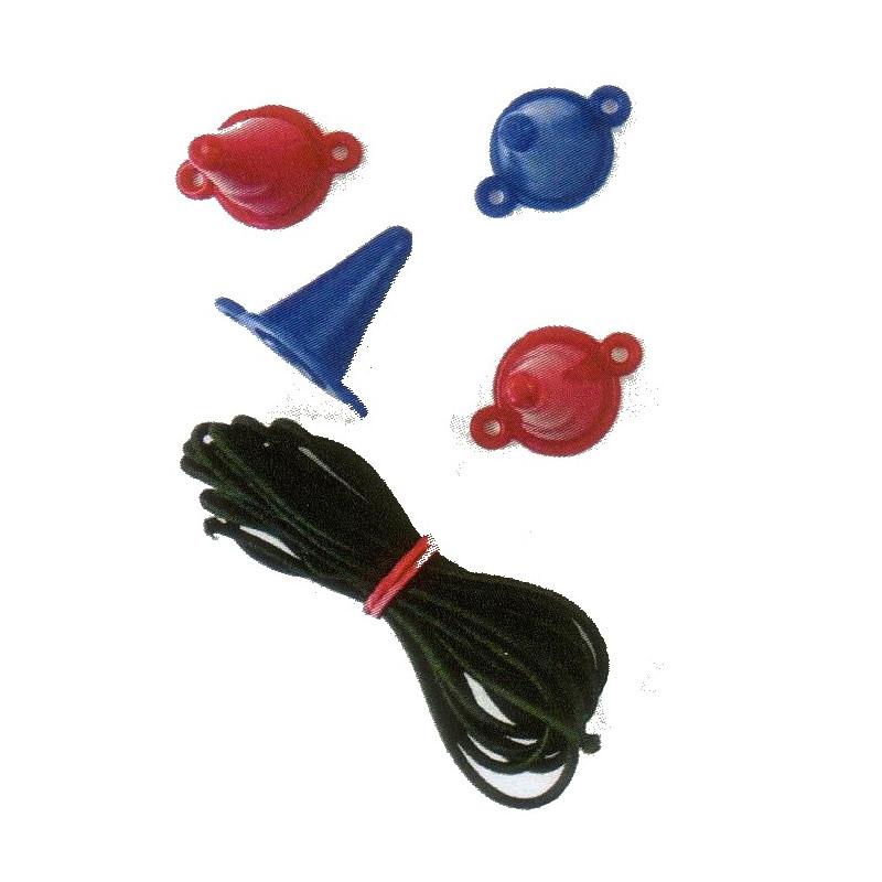 Naalddoppen met elastiek
