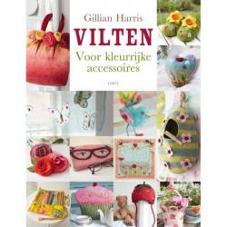 Viltboek: Vilten voor kleurrijke accessoires