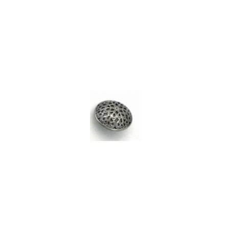 Knoop metaal antiekmotief klein