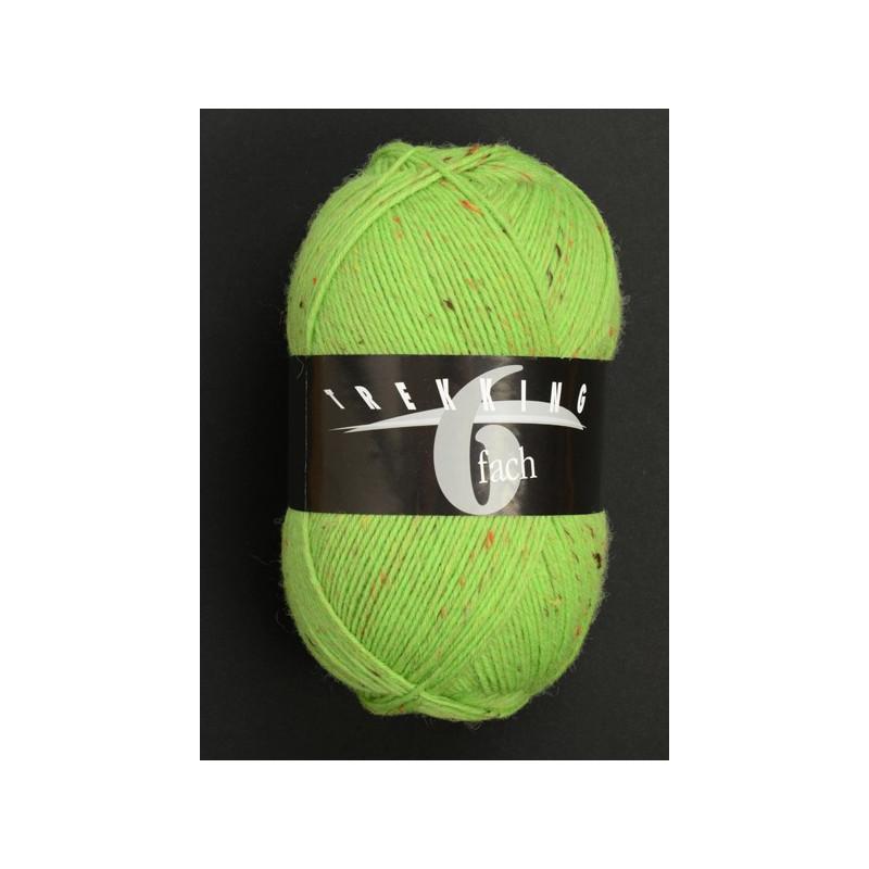 Trekking 6-fach Tweed sokkenwol