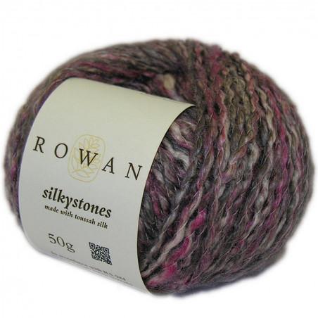 Rowan Silkystones zijde-linnenmix