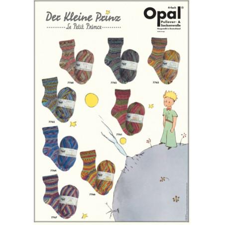 Opal Der kleine Prinz sokkenwol