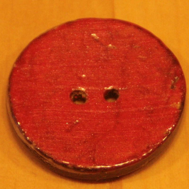Knoop kokos vintage rood