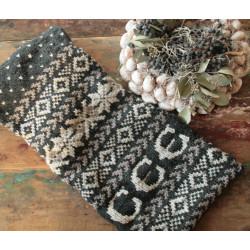 Breipatroon Fair Isle sjaal