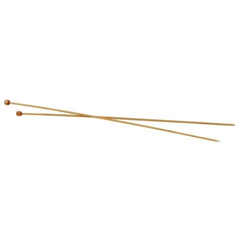 Bamboe breinaalden 35 cm