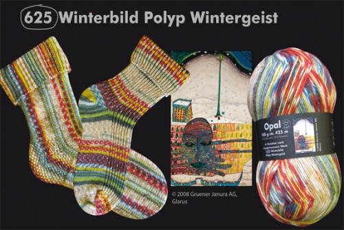 2104 Winterbild Polyp Wintergeist