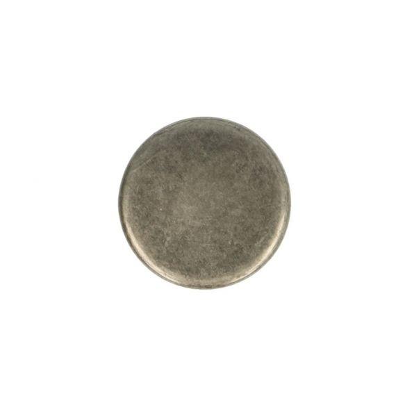 Jeansknoop oudnikkel 17 mm